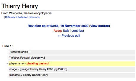 Wikipedia Henry Diff