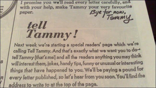 Tammy - 'Tell Tammy'