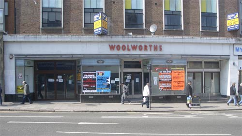 Woolworths in March 2009