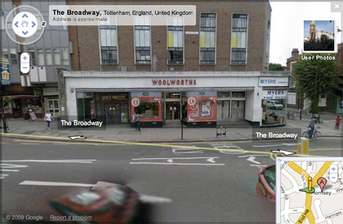 Woolworths on Google Street View