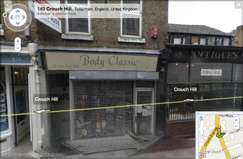 Body Classic on Google Street View