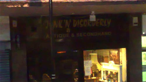 Junk'n'Disorderly in Crouch End