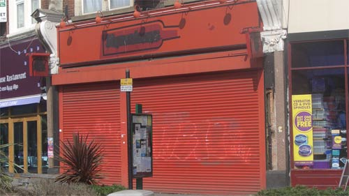 Muswell Hill closed off licence