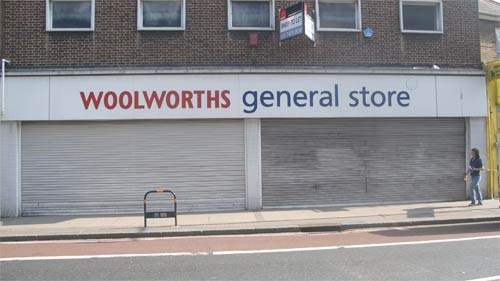 Woolworths is closed