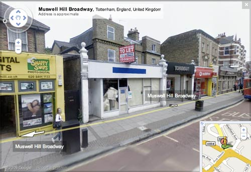 Empty unit in Muswell Hill
