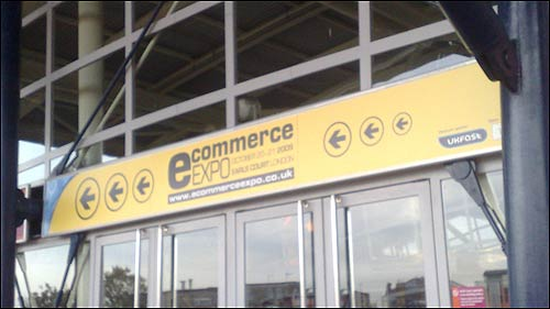 Ecommerce expo sign