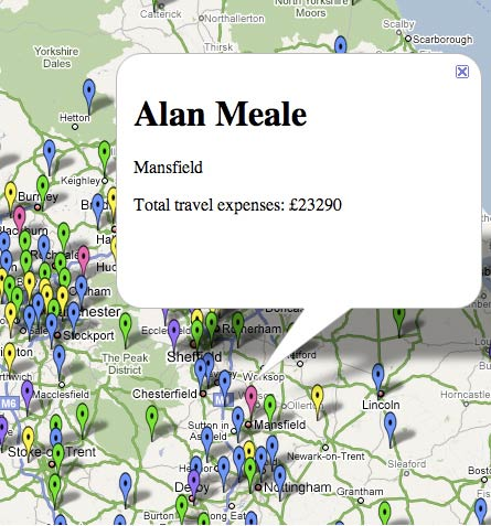 Alan Meale's expenses