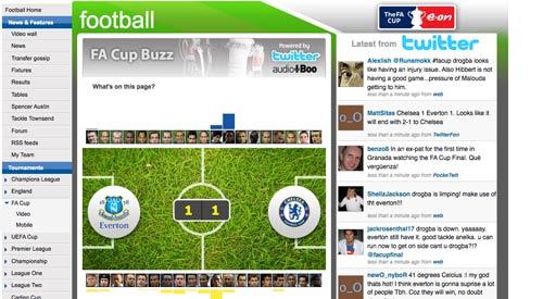 ITV FA Cup buzz page