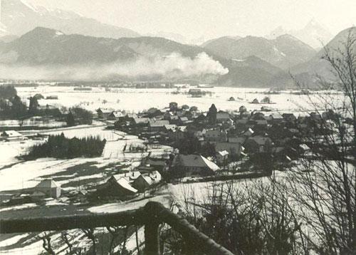 Snowy 1940s Grödig