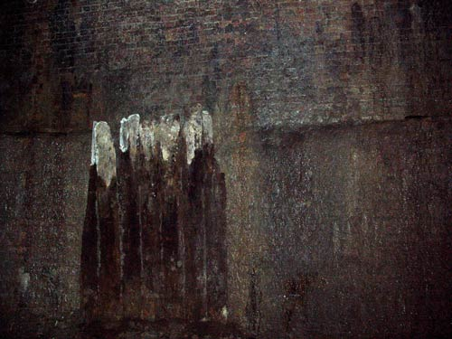 Ice well wall