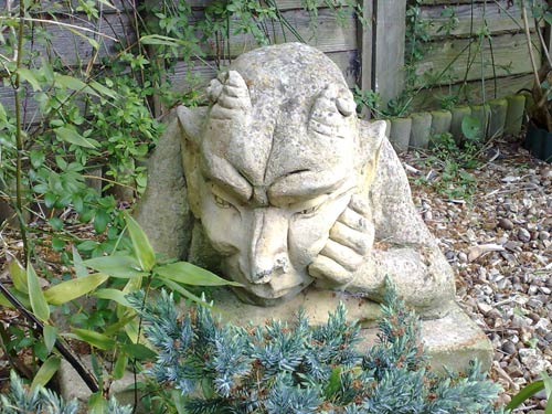 A stone demon