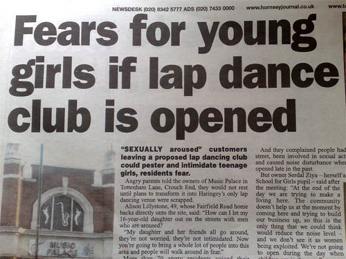 Fears For Young Girls article