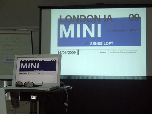 London IA Mini Conference 2