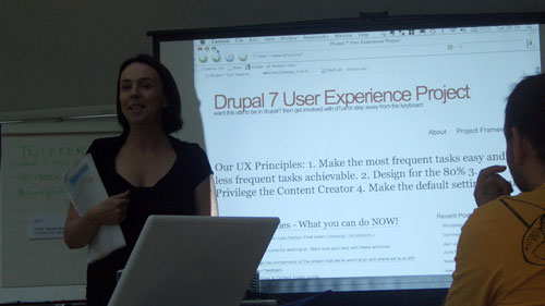 Leisa Reichelt talking about D7UX