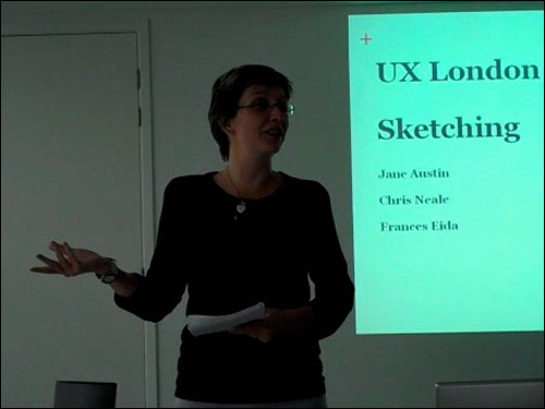 Jane Austin at the London IA UX London redux