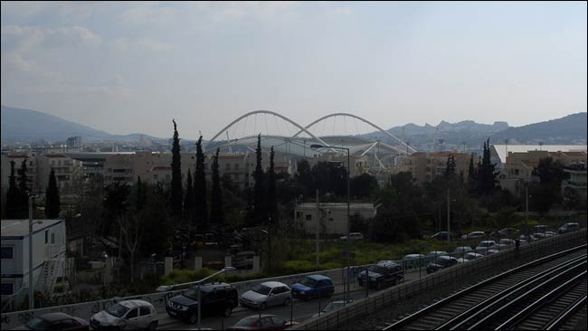 Athens Olympic Satdium for the 2004 Games