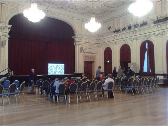 Memory Marathon workshop in Stratford Old Town Hall