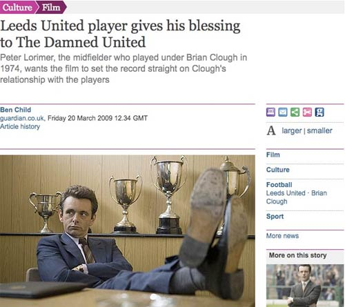 Review of 'The Damned United'
