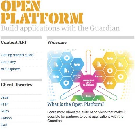 Guardian Open Platform