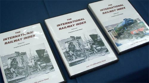 Internation Railway Index DVD-Roms