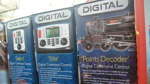 Hornby Digital stand