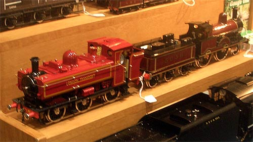 Model of a London Transport steam engine