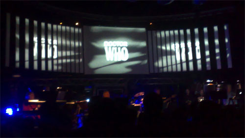 60s Doctor Who opening sequence at The Roundhouse