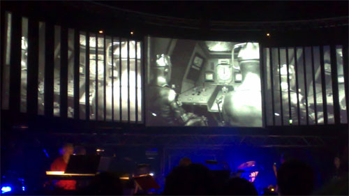Cybermen at The Radiophonic Workshop gig