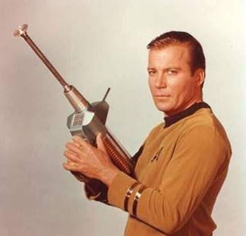 Shatner forcing you to blog at gun-point