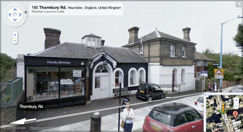 Osterley & Spring Grove station building on Google Street View
