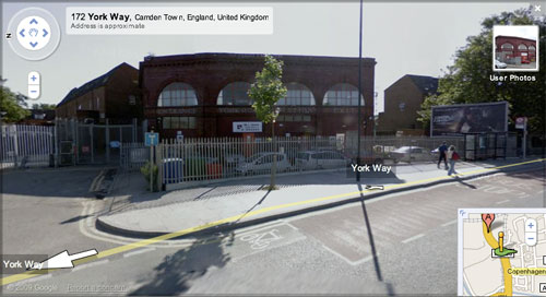York Road on Google Street View