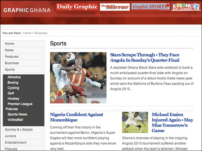 Daily Graphic online