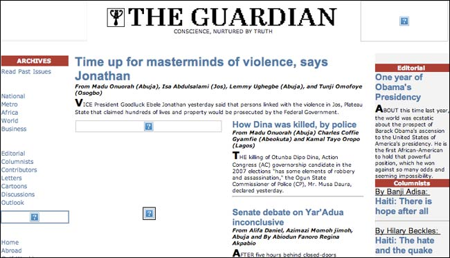 The Nigerian Guardian