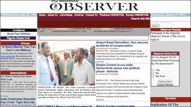 Nigeria Observer