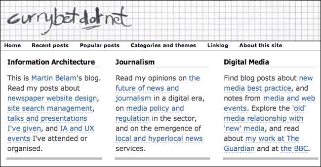 Currybetdotnet 2010 homepage panel