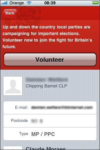 Labour call for volunteers