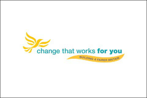 Liberal Democrat splash page
