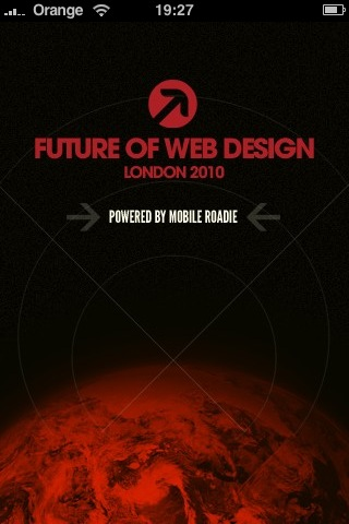 Future of Web Design iPhone app