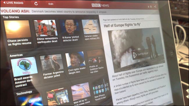 BBC News iPad app