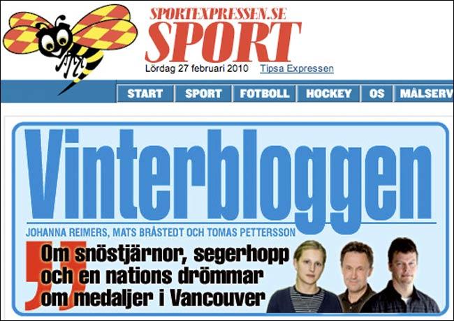 Expressen Vinterblogs