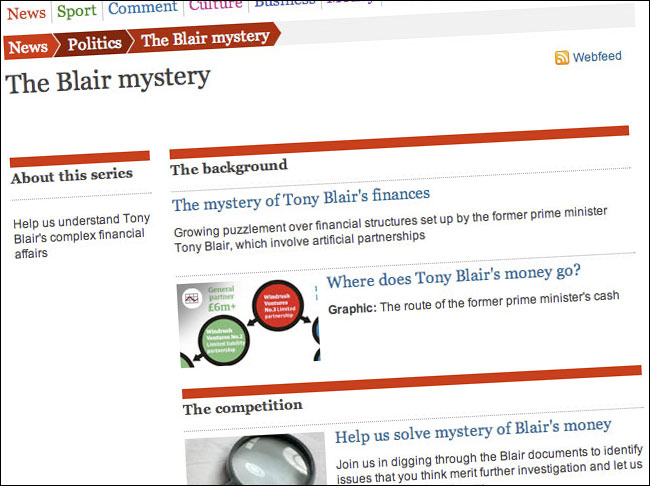The Blair Mystery on Guardian.co.uk
