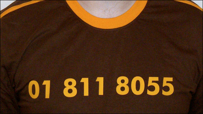 Dan Catt's 01 811 8055 t-shirt