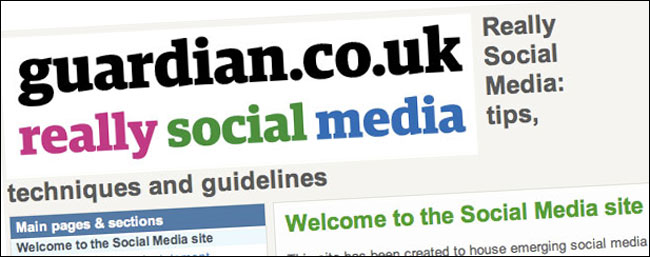 'Really Social Media' intranet site