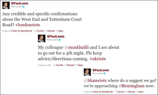 Lewis Tweets