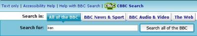 BBC search