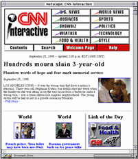 CNN Interactive homepage