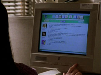 Screengrab from Buffy The Vampire Slayer