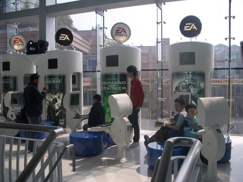 EA games centre