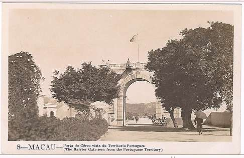 Border gate in the 1920s