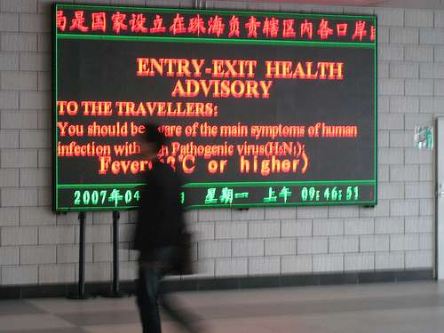 Border health warning